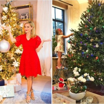 look at the most beautiful christmas decorations in the homes of celebrities - Celebrities Christmas Decorated Homes